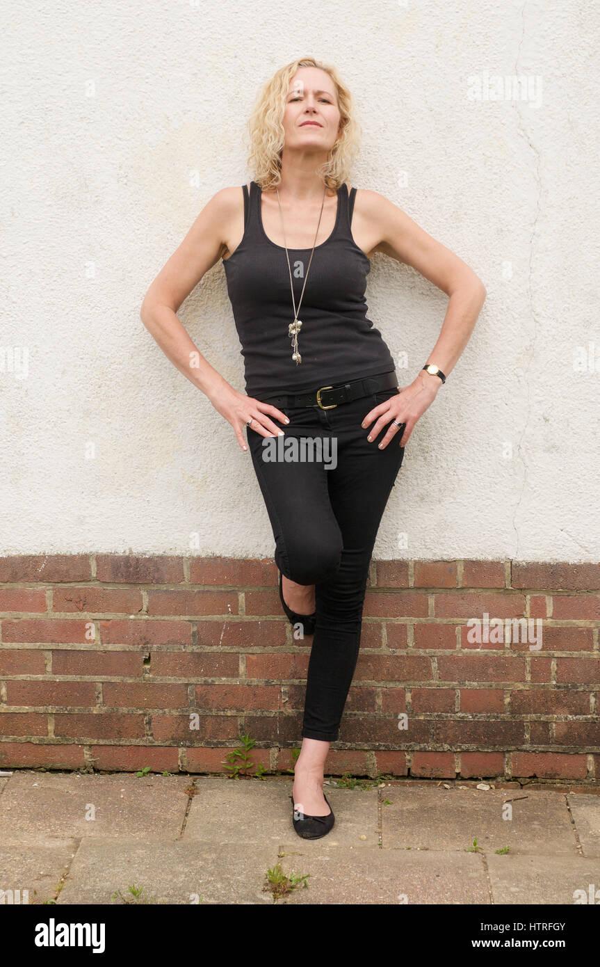 Zoe Schwarz jazz and blues singer - Stock Image