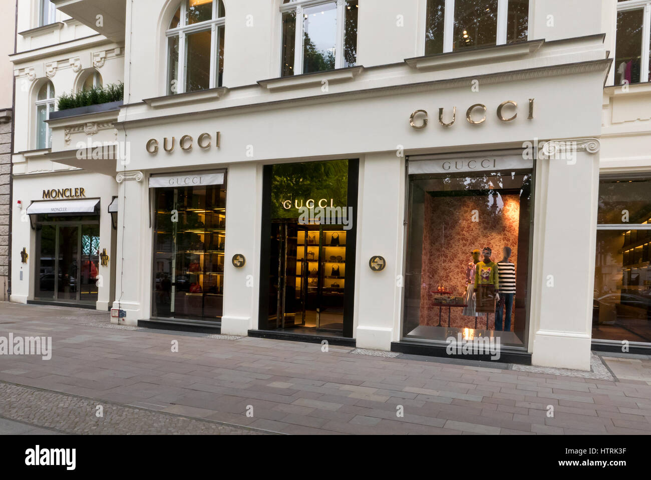 san francisco 403e1 a91b3 The exterior of a luxurious Gucci shop, Berlin, Germany ...