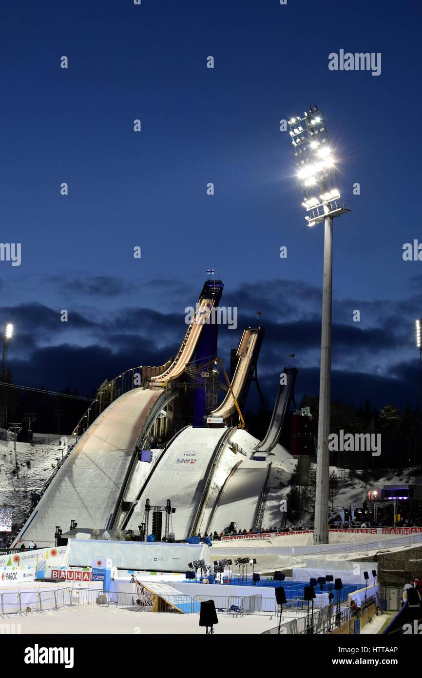 Lahti Ski Stadium - Stock Image