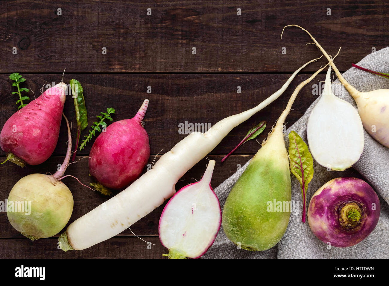 What is useful for radish