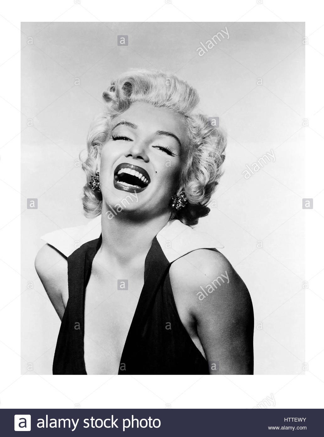 Marilyn Monroe Studio pin-up portrait - Stock Image