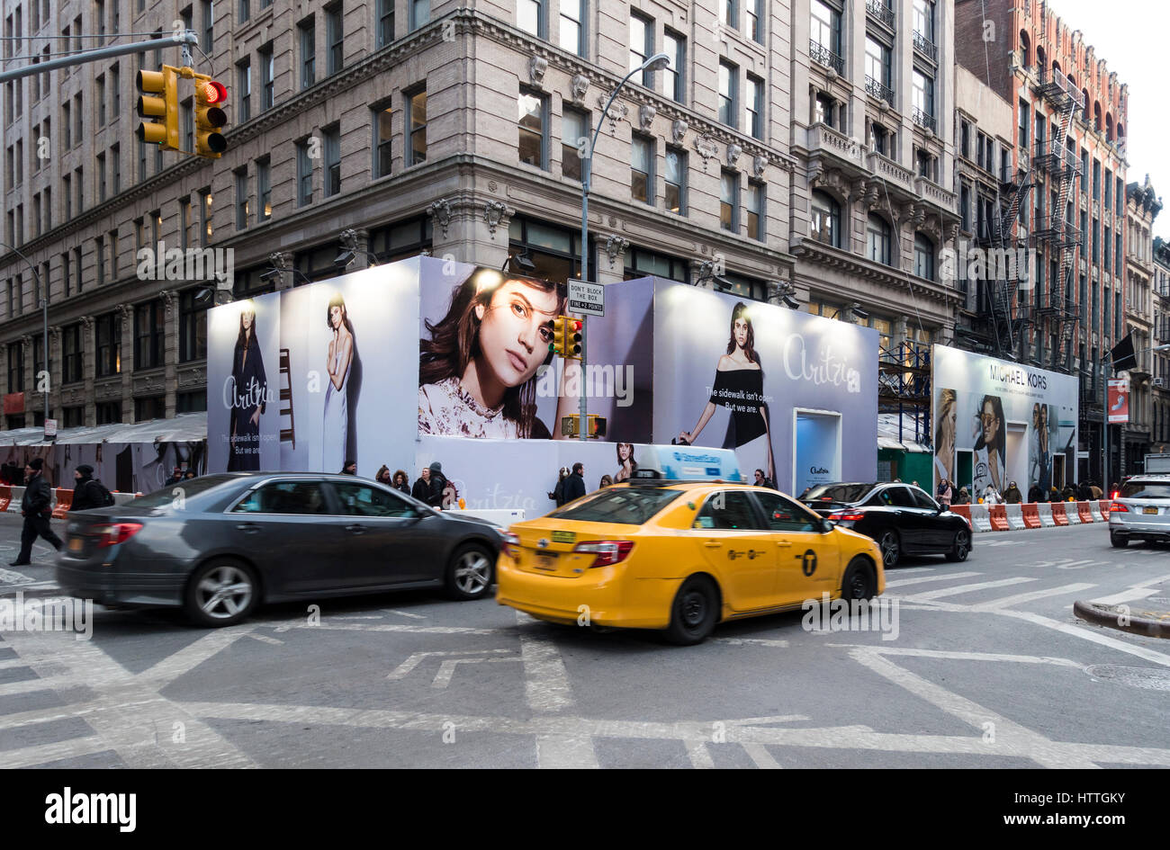Opening of a new store on Broadway and Spring Sreet - Stock Image