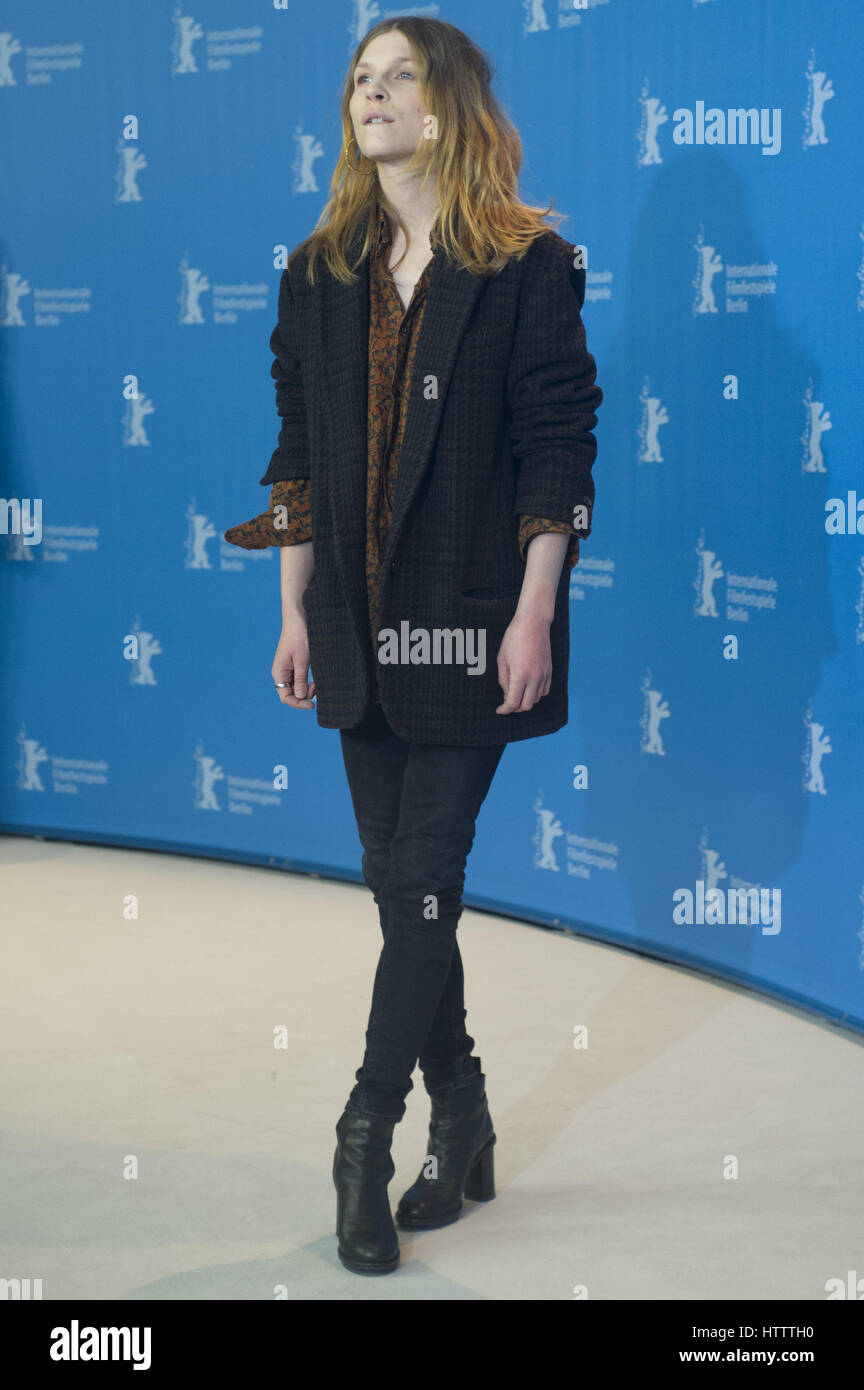 67th Berlin International Film Festival (Berlinale) - 'Final Portrait - Photocall  Featuring: Clémence Poésy Where: Stock Photo