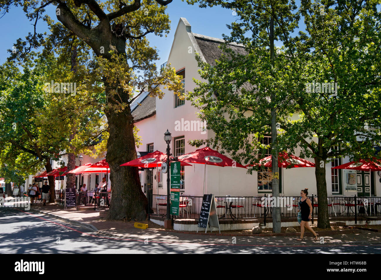 Stellenbosch,Western Cape,South Africa - Stock Image