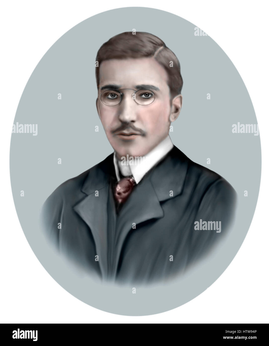 Stefan Zweig, 1881-1942, Austrian Novelist, Playwright, Journalist - Stock Image