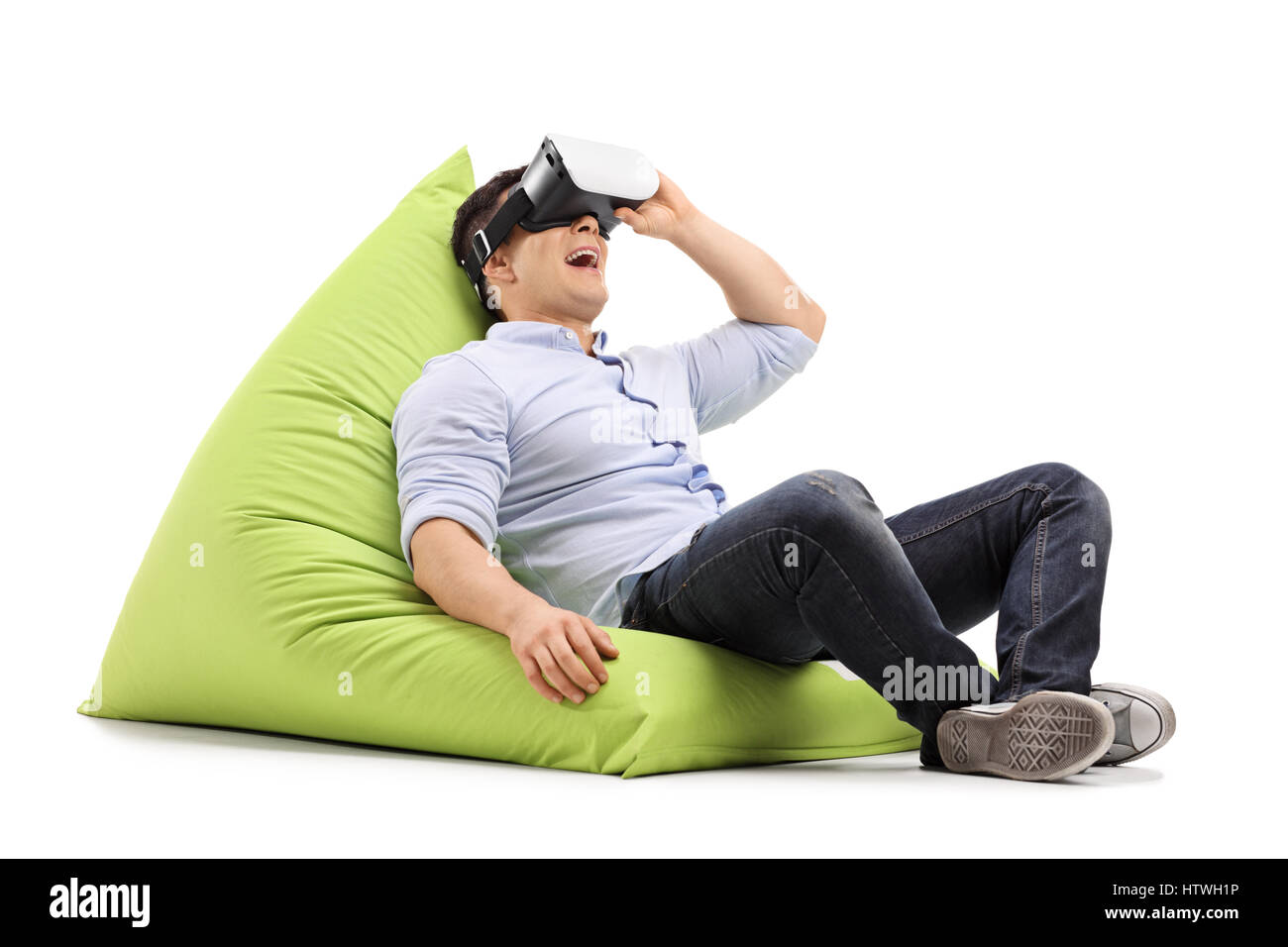 Astonishing Beanbag Chair Cut Out Stock Images Pictures Alamy Ocoug Best Dining Table And Chair Ideas Images Ocougorg