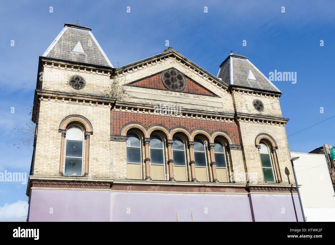The former Primitive Methodist chapel building on St Peter's Churchyard in Derby - Stock Image