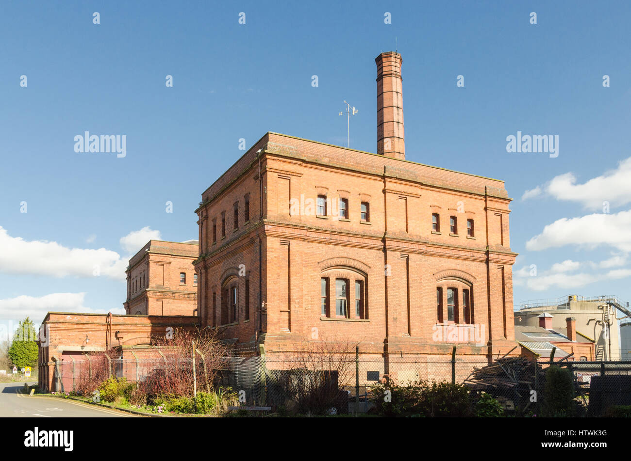 Claymills Victorian Pumping Station in Burton-upon-Trent, Staffordshire - Stock Image