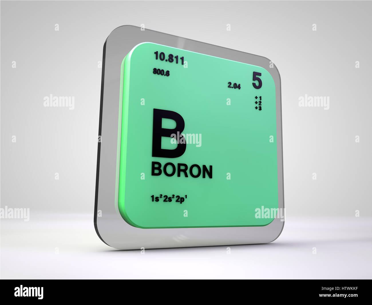 Boron element stock photos boron element stock images alamy boron b chemical element periodic table 3d render stock image ccuart Gallery