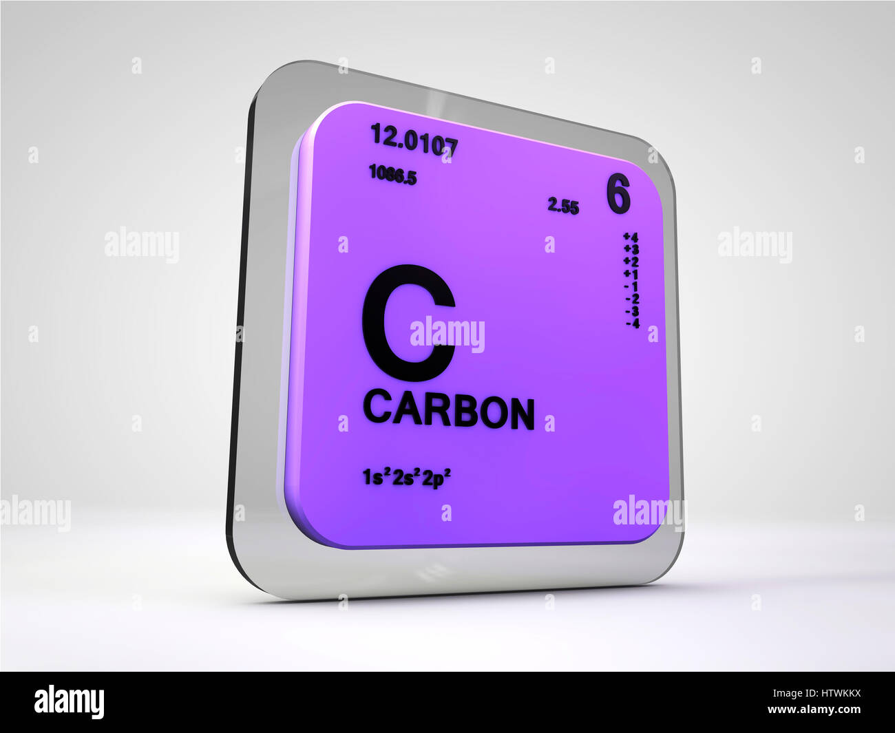 Carbon c chemical element periodic table 3d render stock photo carbon c chemical element periodic table 3d render urtaz Image collections