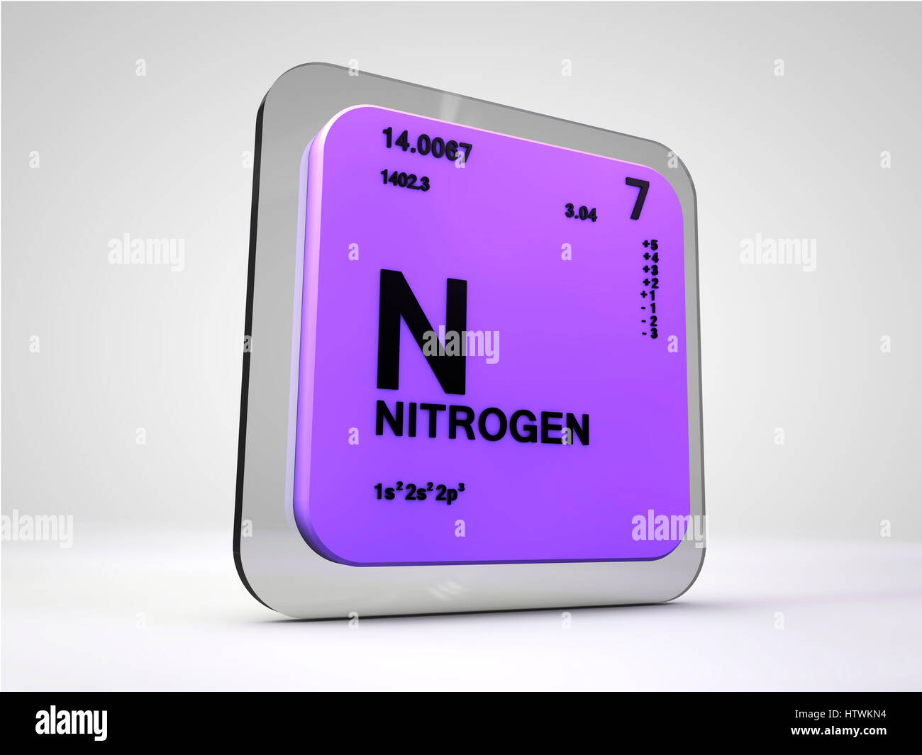 Nitrogen n chemical element periodic table 3d render stock photo nitrogen n chemical element periodic table 3d render urtaz Image collections