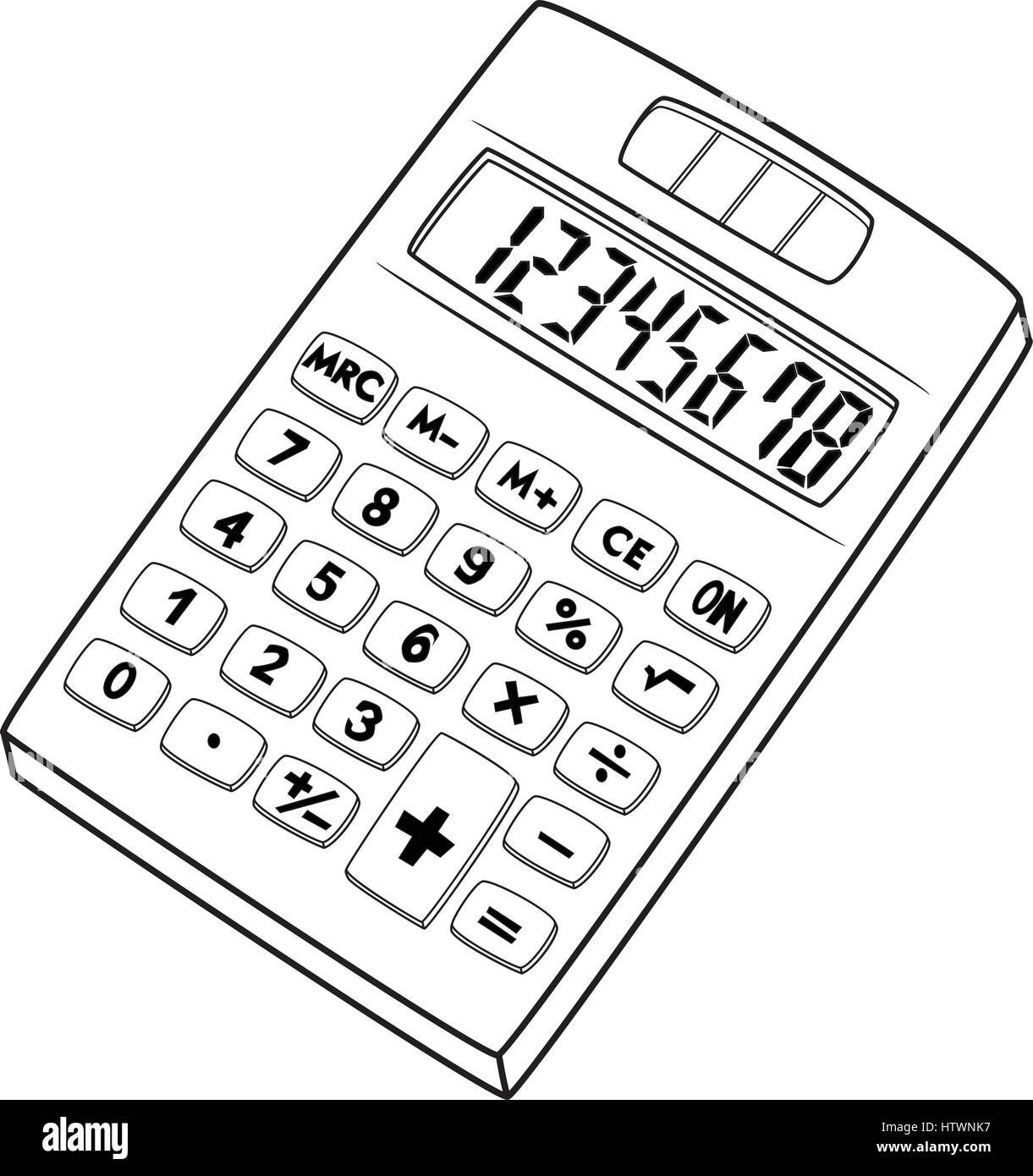 illustration of isolated calculator cartoon drawing vector eps 8 Cerium Element Symbol CafePress illustration of isolated calculator cartoon drawing vector eps 8