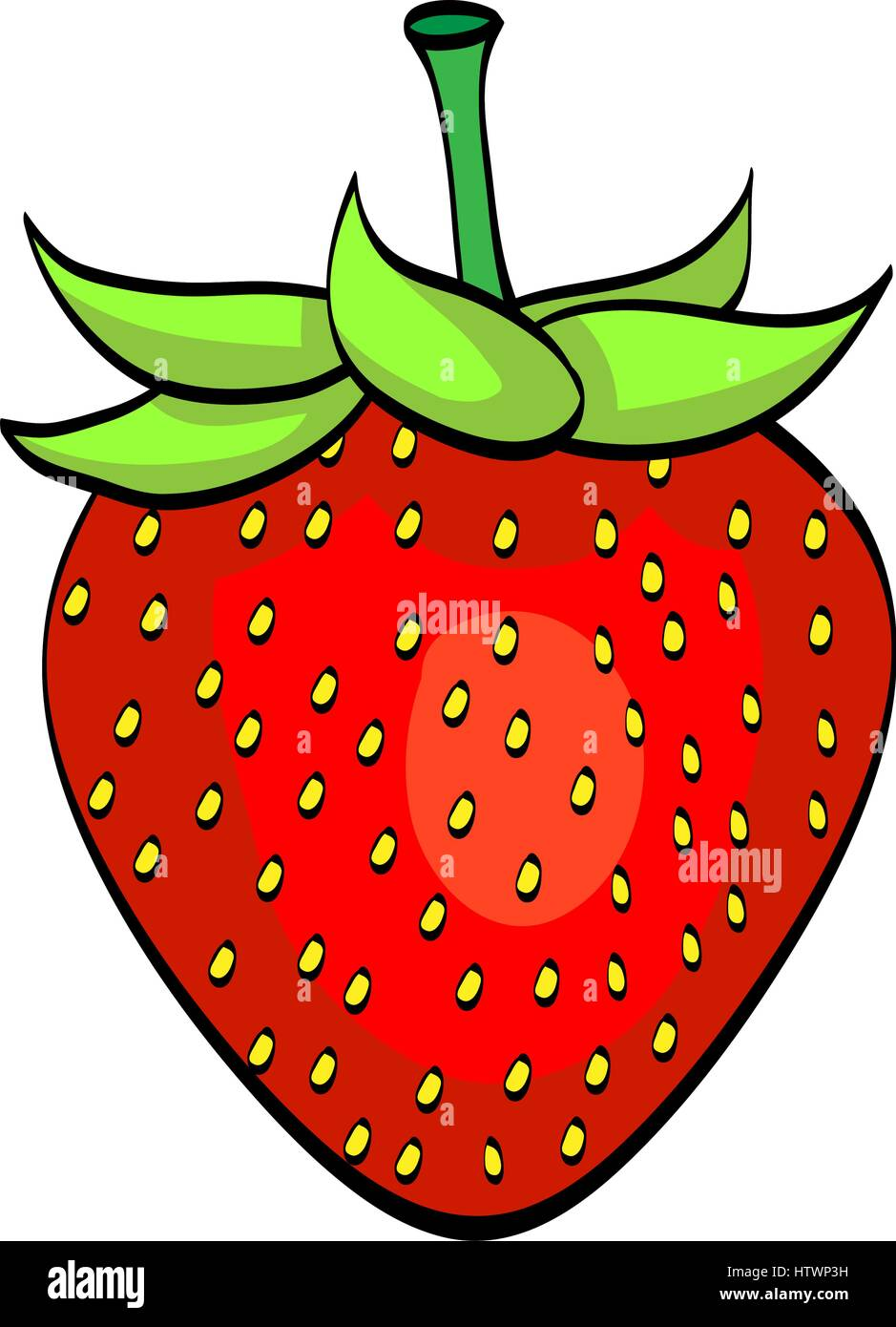 Cartoon Strawberry High Resolution Stock Photography And Images Alamy