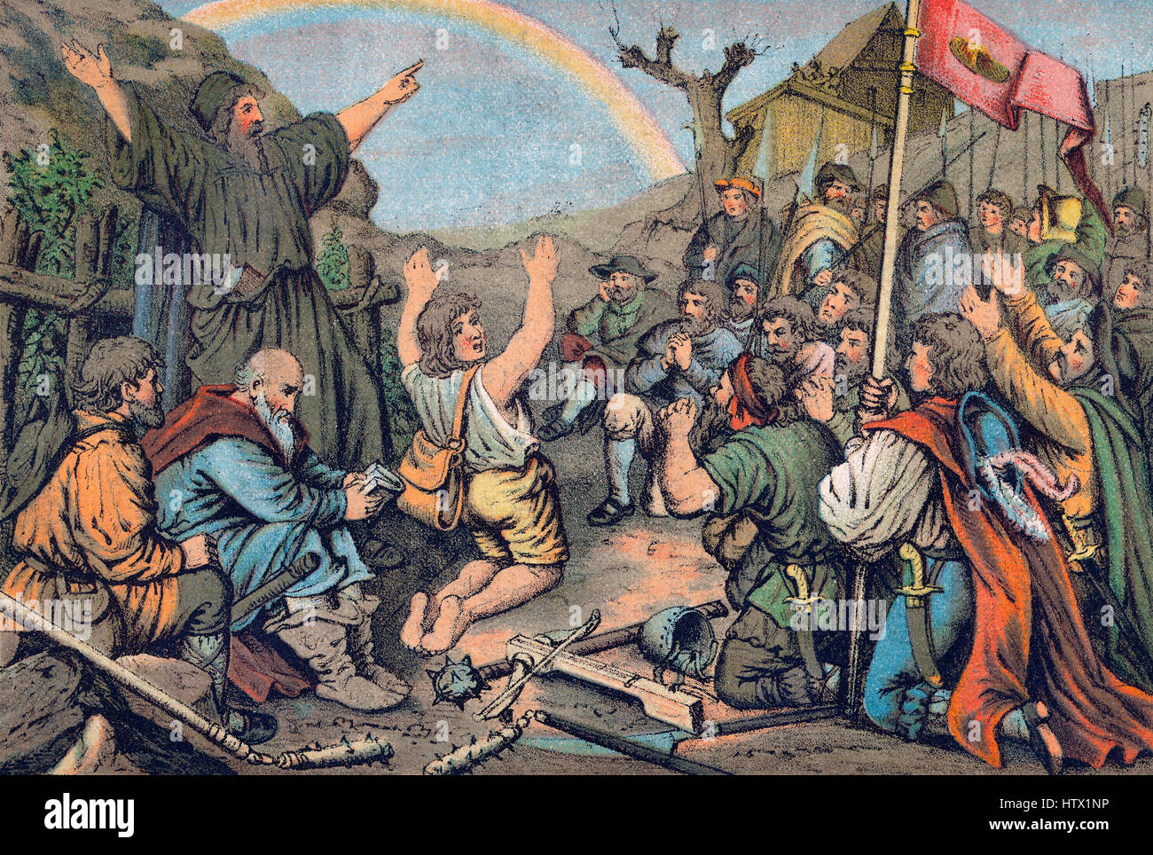 the peasant's revolt in the german Suppression of the rebellion by the german aristocracy was swift and violent, leaving over 70,000 german peasants dead the rebellion targeted the social and political oppression of the peasantry in the early 16th century.