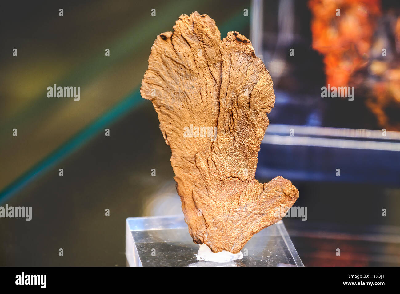 native copper mineral raw materials - Stock Image