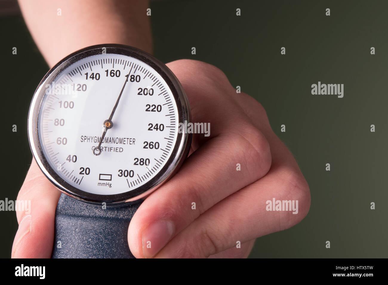 blood pressure concept - Stock Image