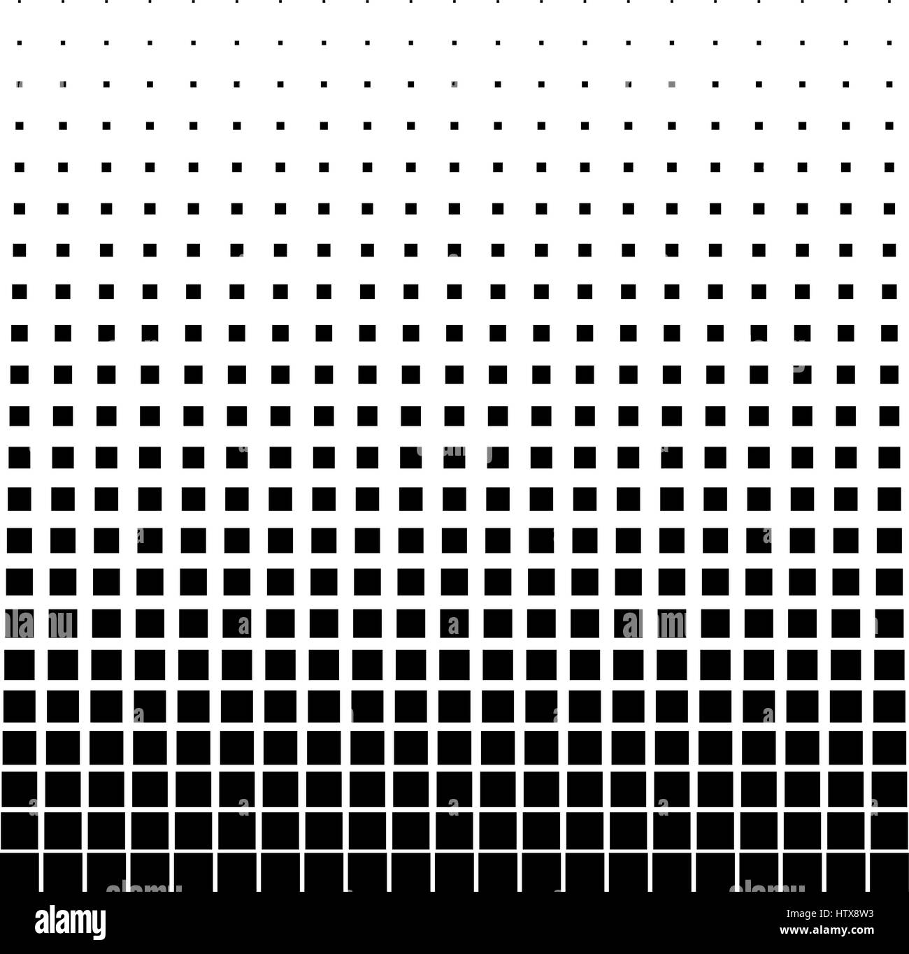 Black Abstract Halftone Square Dot Background Vector Illustration