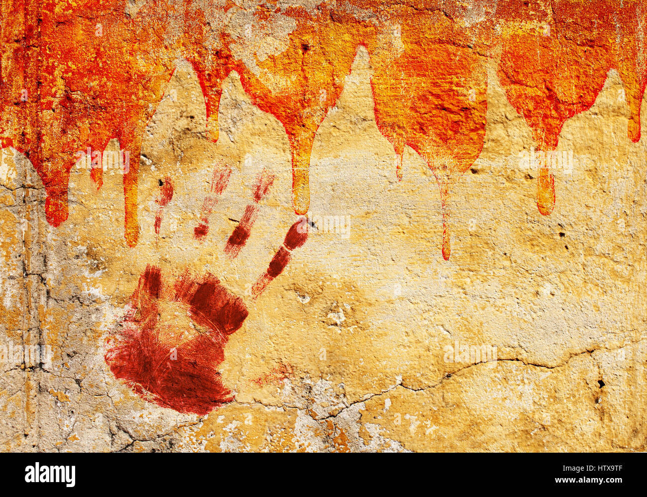 Blood Stained Fingerprint Stock Photos & Blood Stained Fingerprint ...