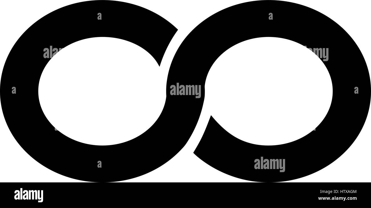 Infinity Symbol Black And White Stock Photos Images Alamy