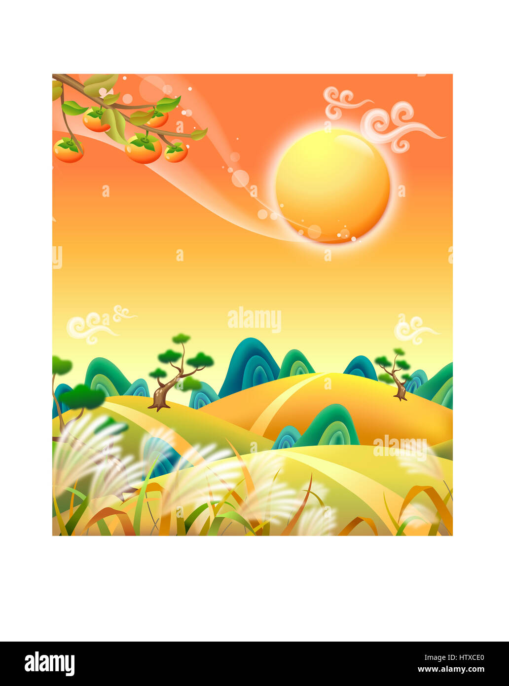 Beautiful Scenery - Stock Image