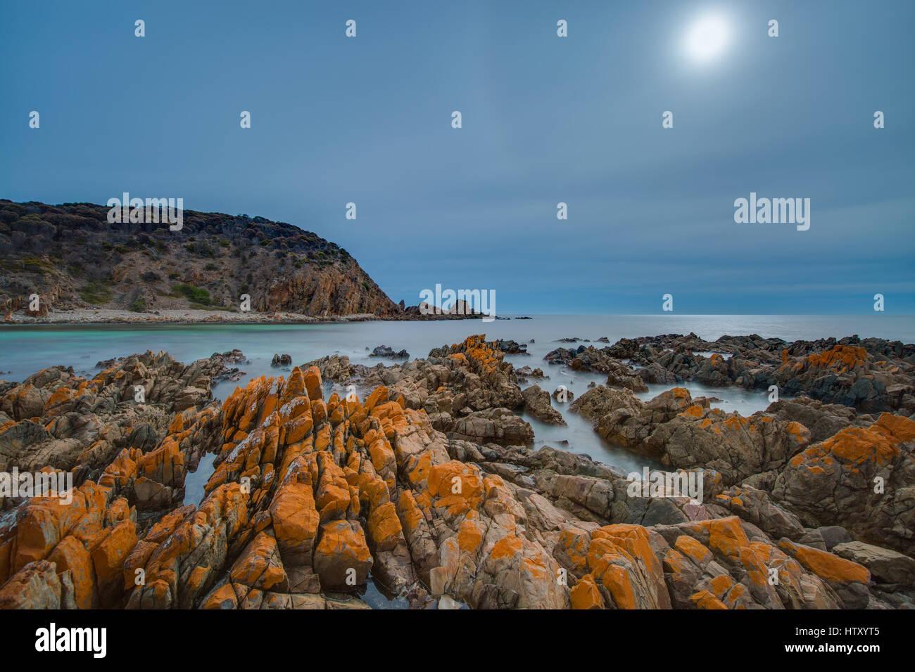 King George Beach - Kangaroo Island, South Australia Stock Photo