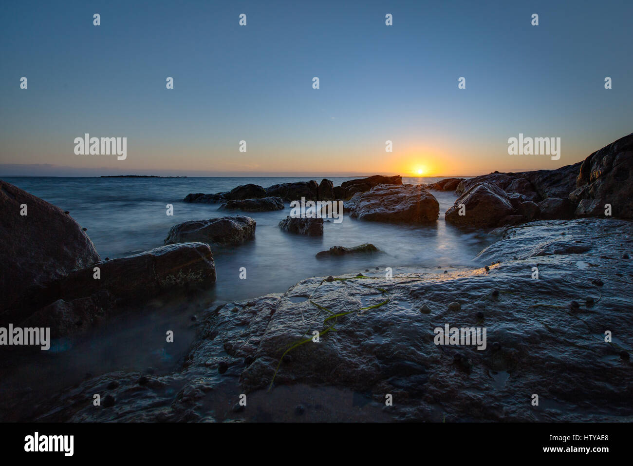 South Australia West Coast - Lincoln National Park - Stock Image