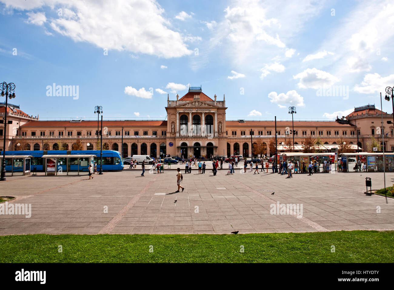 The Main Railway Station Glavni Kolodvor In Zagreb Croatia Stock Photo Alamy
