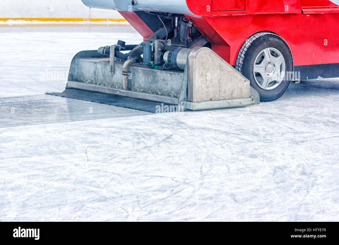 how to build an ice resurfacer