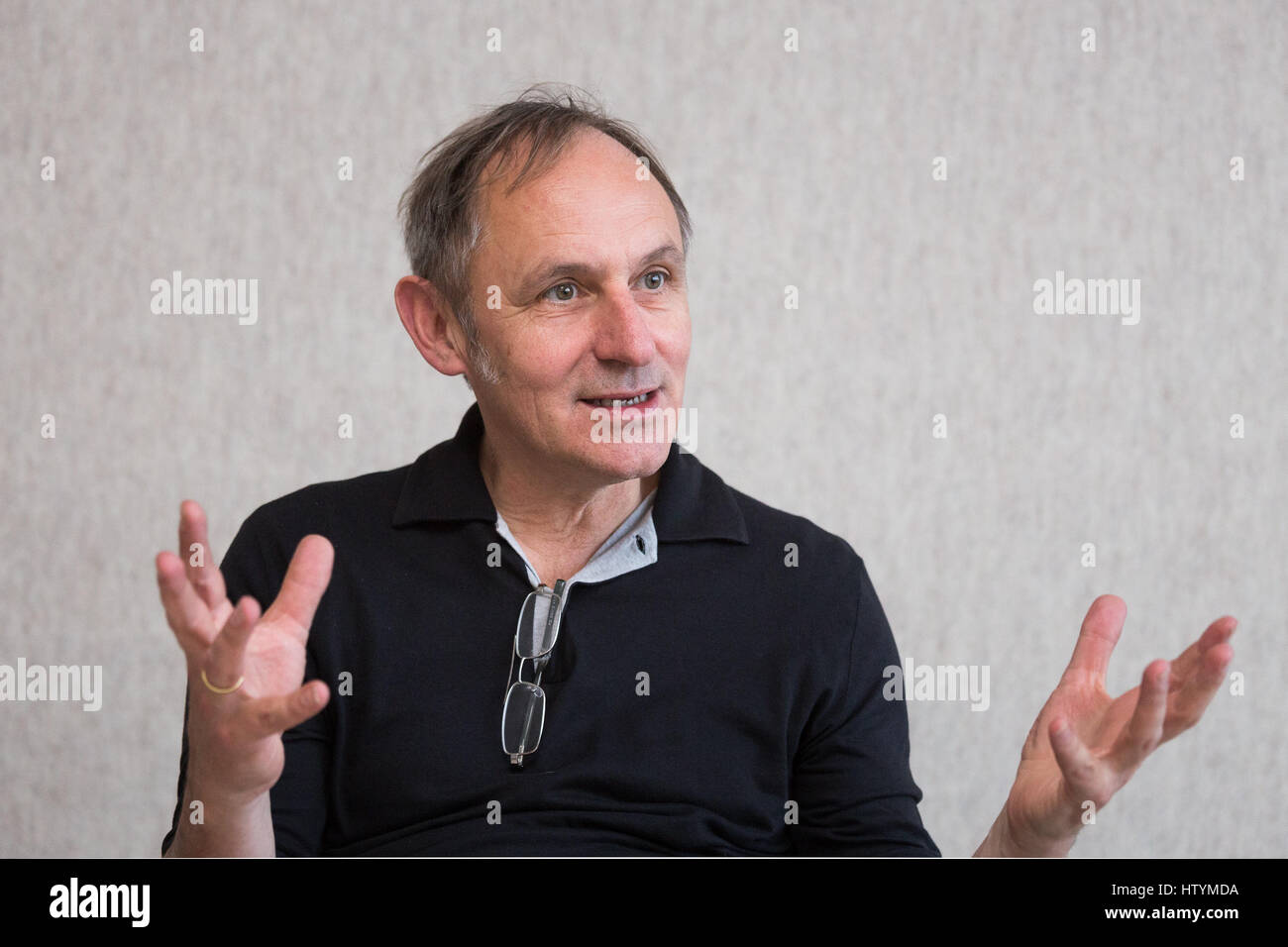 The German Architect Volker Staab Portrayed During An Interview At