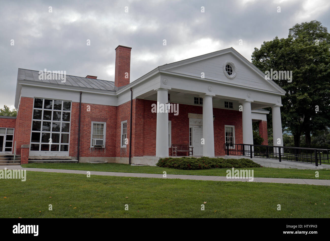 The Faculty House/Alumni Center, Williams College, Williamstown, Berkshire County, Massachusetts, United States. - Stock Image