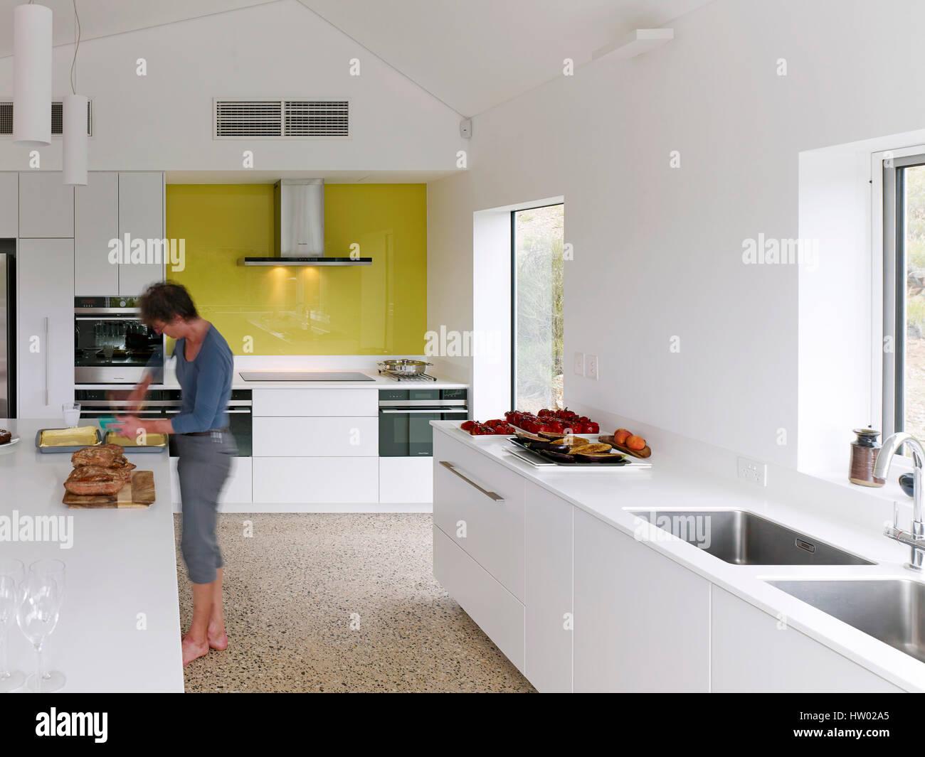 Kitchen Desert House Alice Springs Australia Architect Dunn