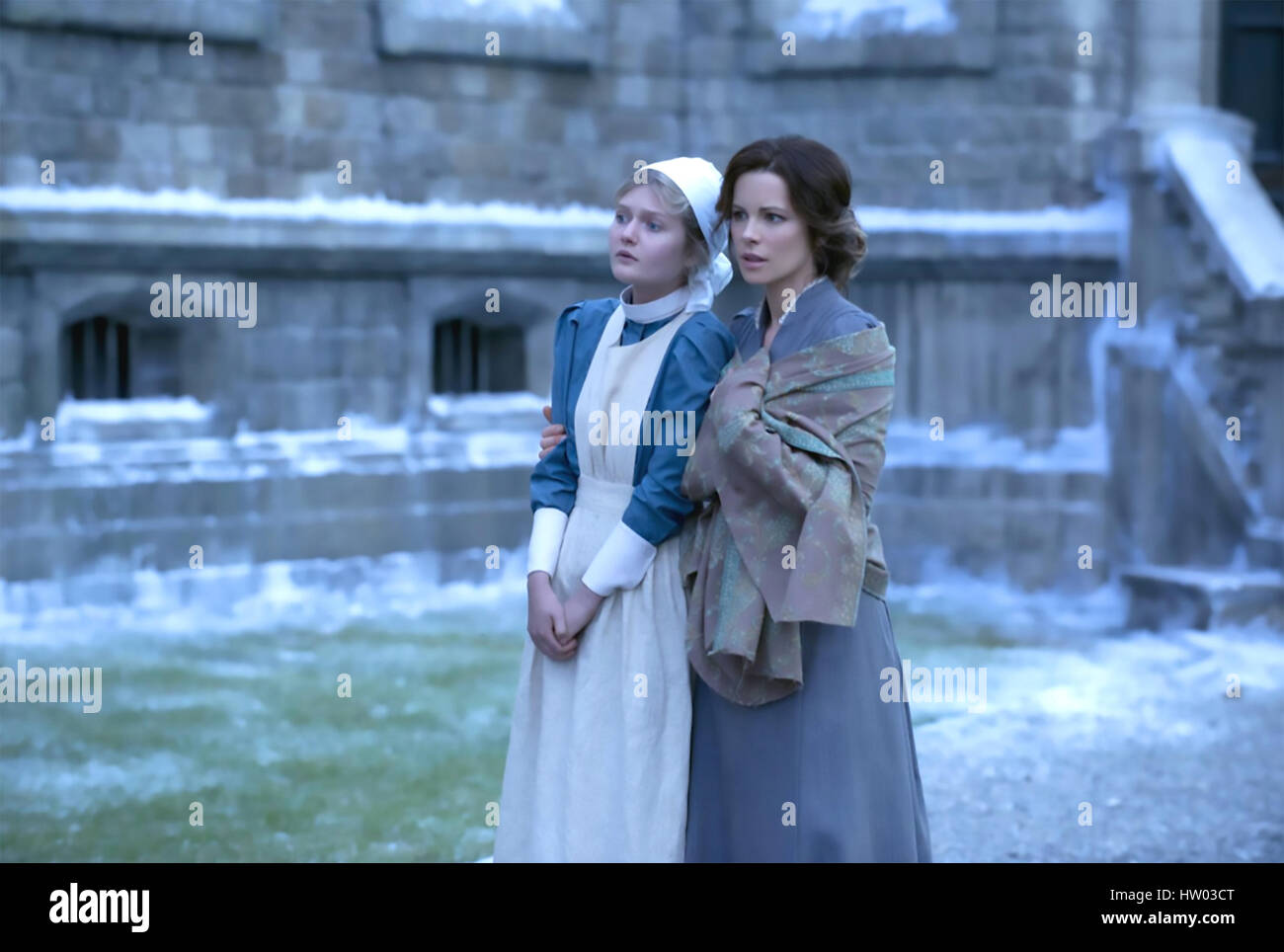 STONEHEARST ASYLUM 2014 Icon productions film with Kate Beckinsale at right and Sophie Kennedy - Stock Image