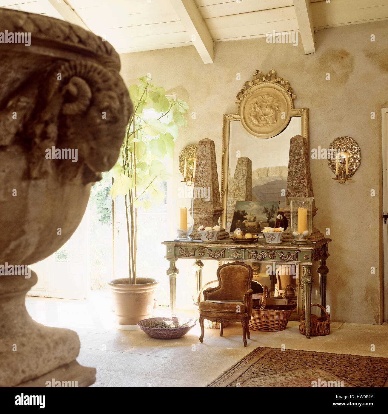 Marvelous Table Of Antiques In Arabic Style Room Stock Photo Home Interior And Landscaping Elinuenasavecom