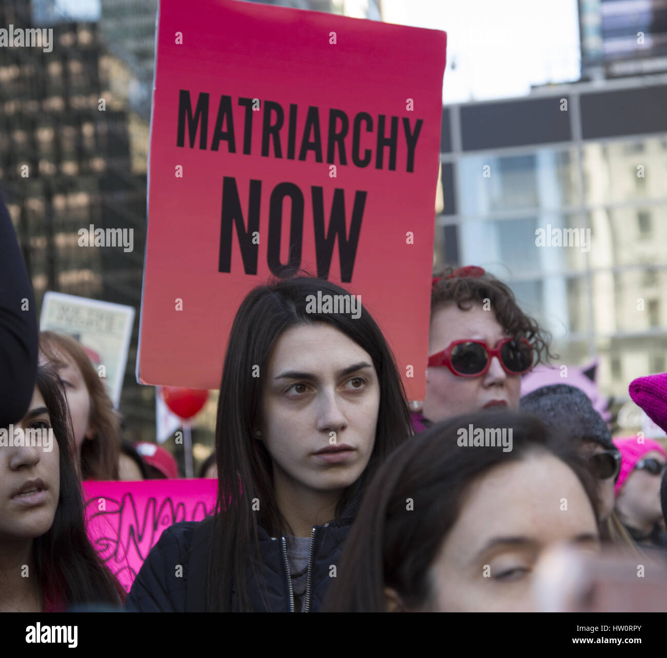 International Women's Day Rally & march to Trump