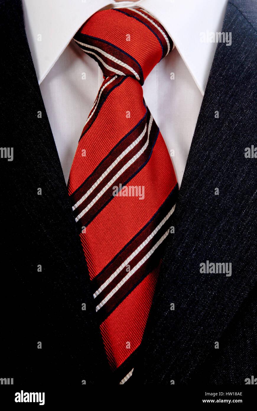 Tie knots, Krawattenknoten - Stock Image