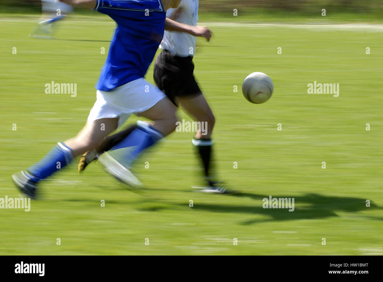 Football player, Fußballspieler - Stock Image