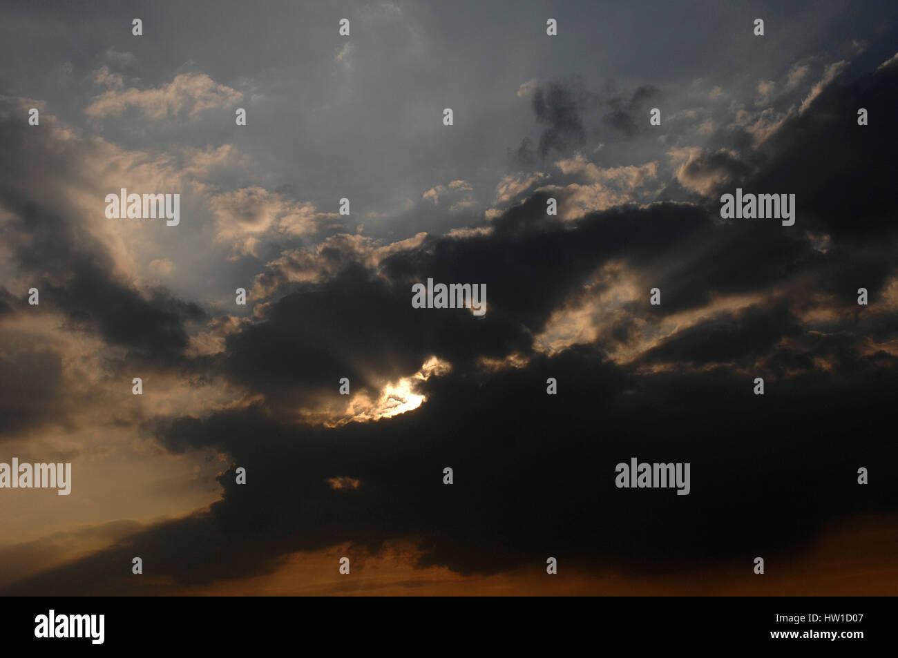 Light and shade, Licht und Schatten - Stock Image