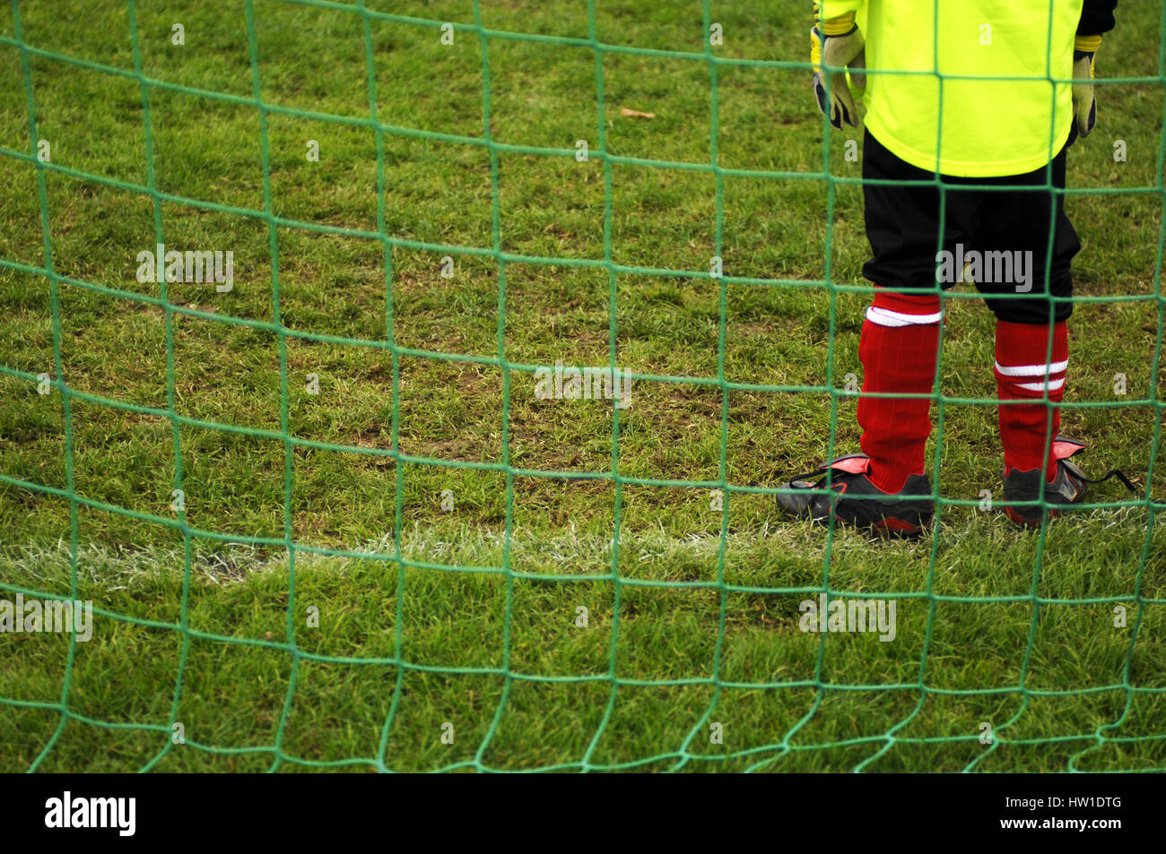 Goalkeeper, Torwart - Stock Image