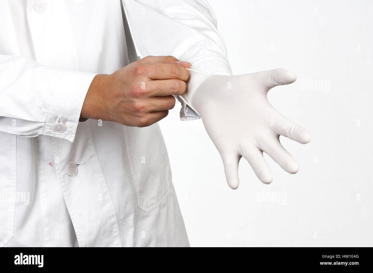 Protection against infections, Schutz gegen Infektionen - Stock Image