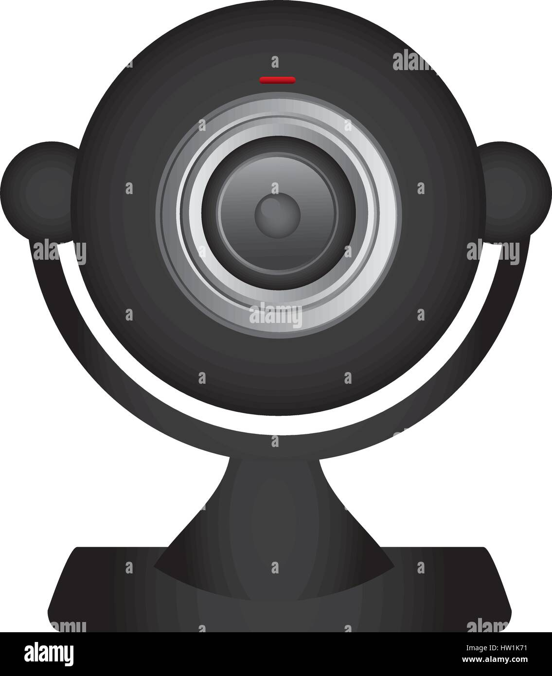 technology computer webcam icon - Stock Image