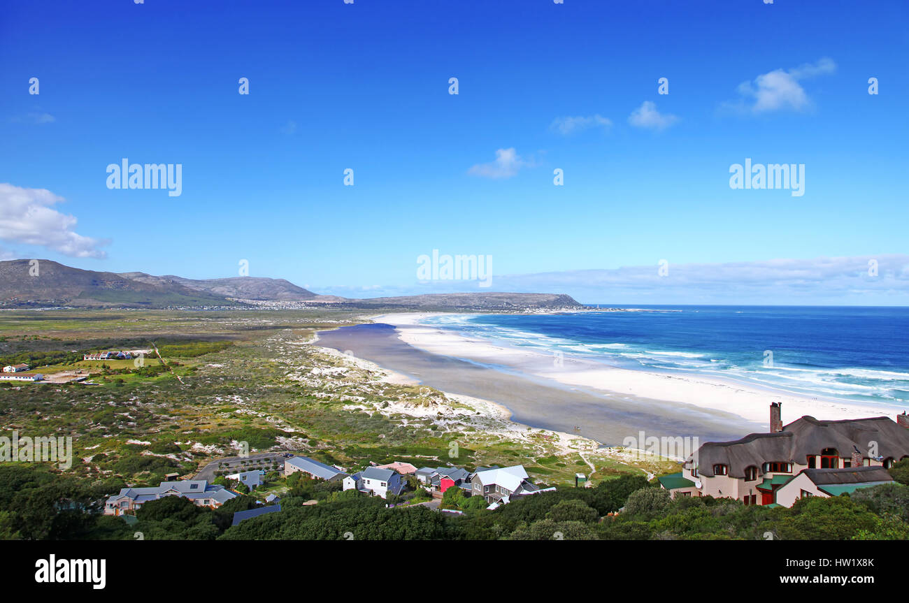 Noordhoek near Cape Town, South Africa - Stock Image