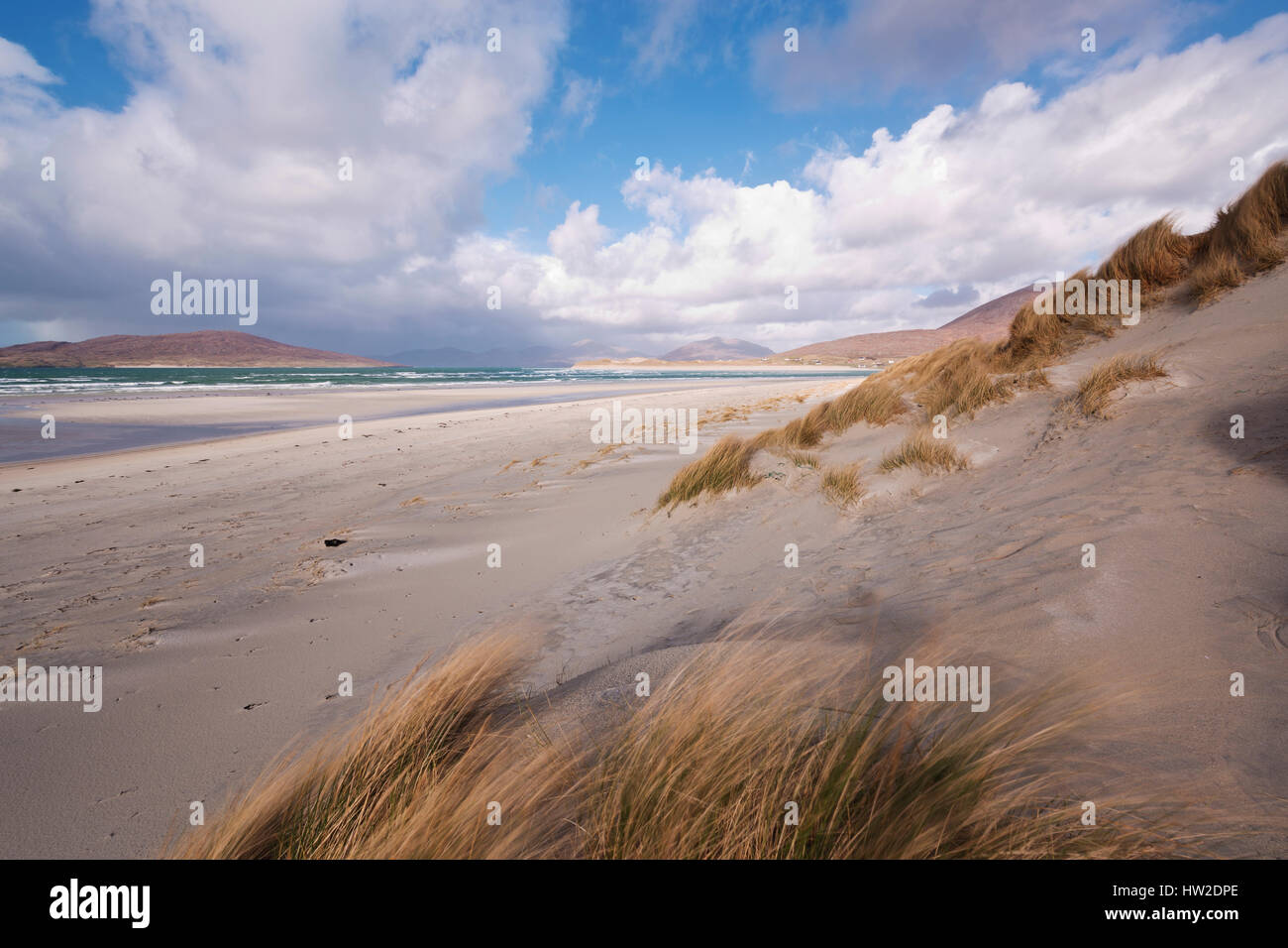 Seilebost Beach, Isle of Harris - Stock Image
