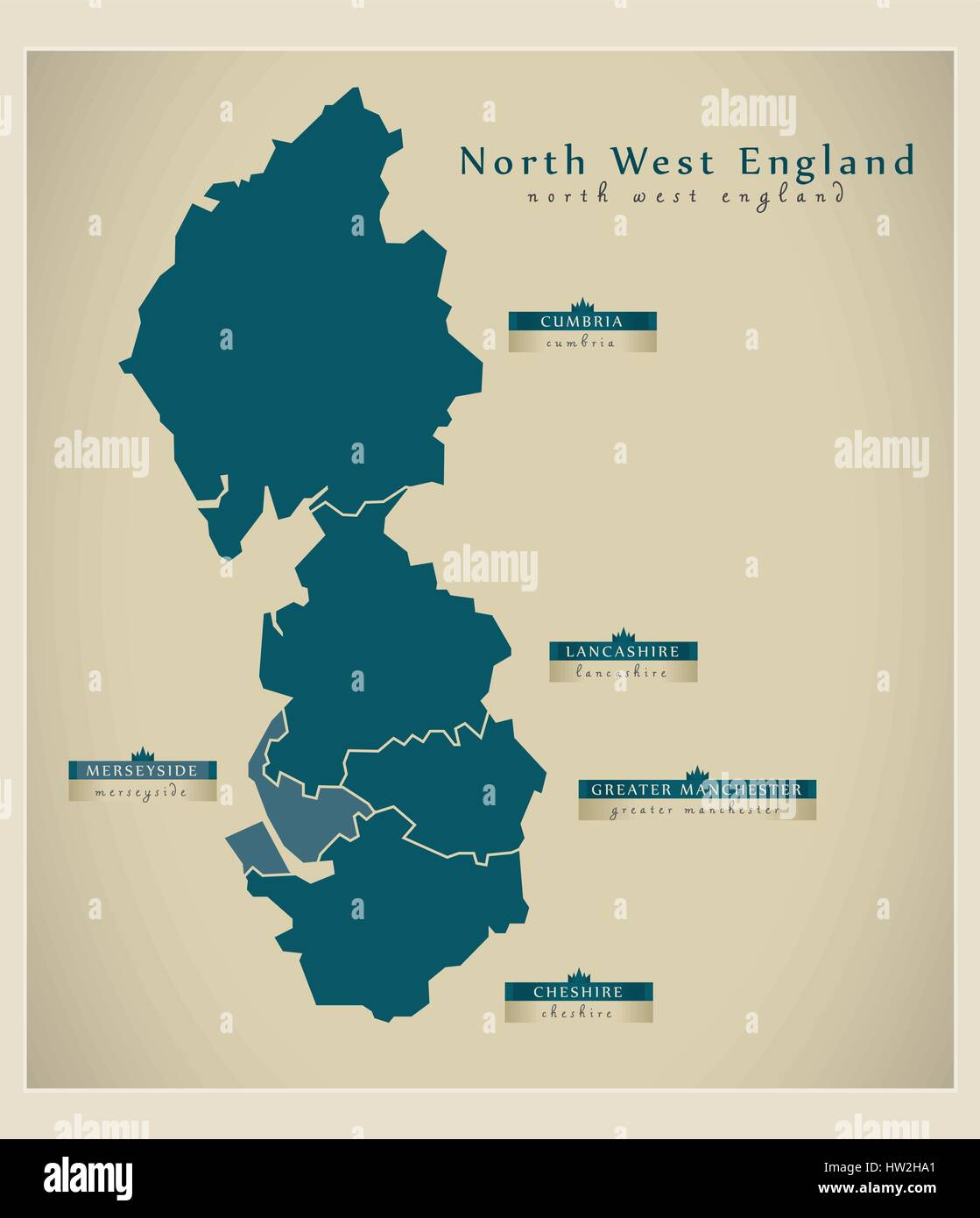 Modern Map - North West England Stock Vector Art ... on map of lake district, map of england regions, map of cumbria england, west midlands england, map of cheshire, map of manchester, map of uk, map of northern england, map of east of england, map of yorkshire, map of north east, map of england counties, east midlands, map of great britain, map of england with towns, map of liverpool england, east of england, map of isle of wight england, republic of ireland, map of staffordshire, st helens, map of north mid wales, south west england, map of ireland & northern ireland, map of lancashire england,
