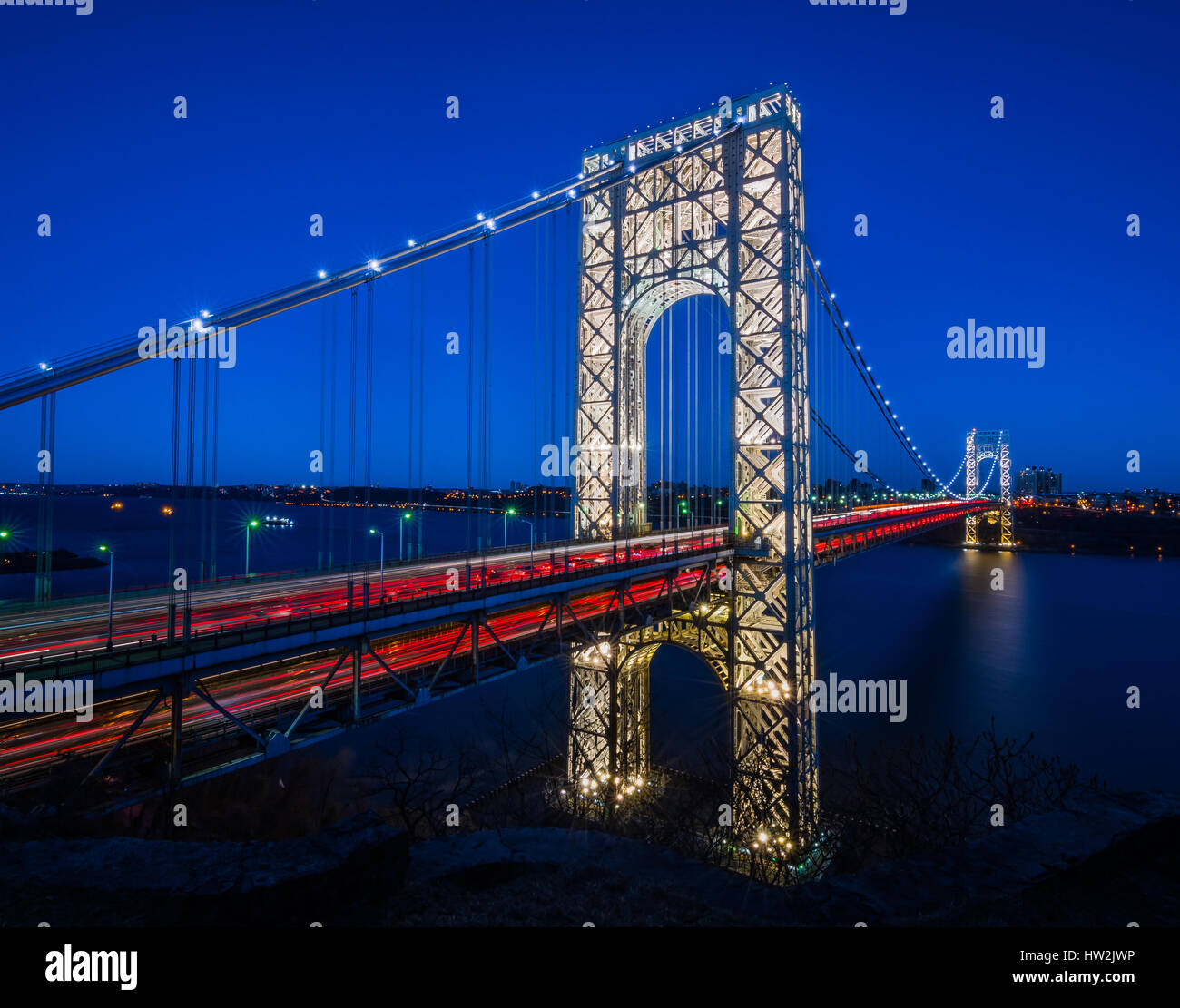 George Washington Bridge - Stock Image