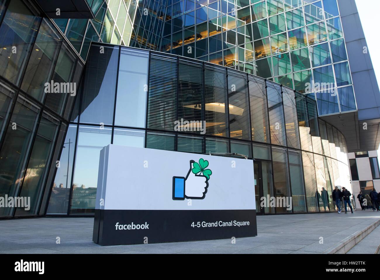 Facebook Dublin Office Stock Photos & Facebook Dublin Office