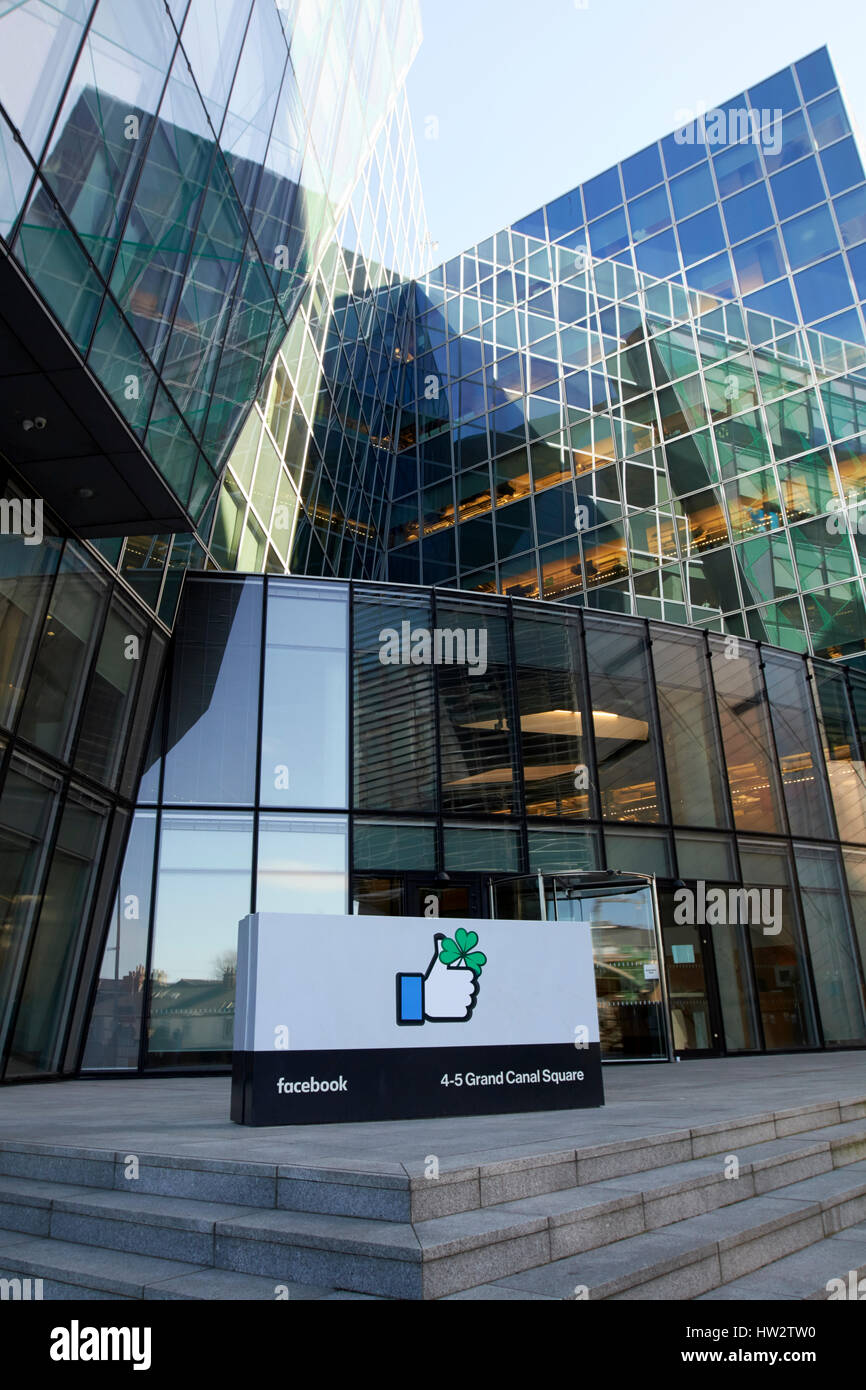 Facebook Ireland headquarters building docklands Dublin