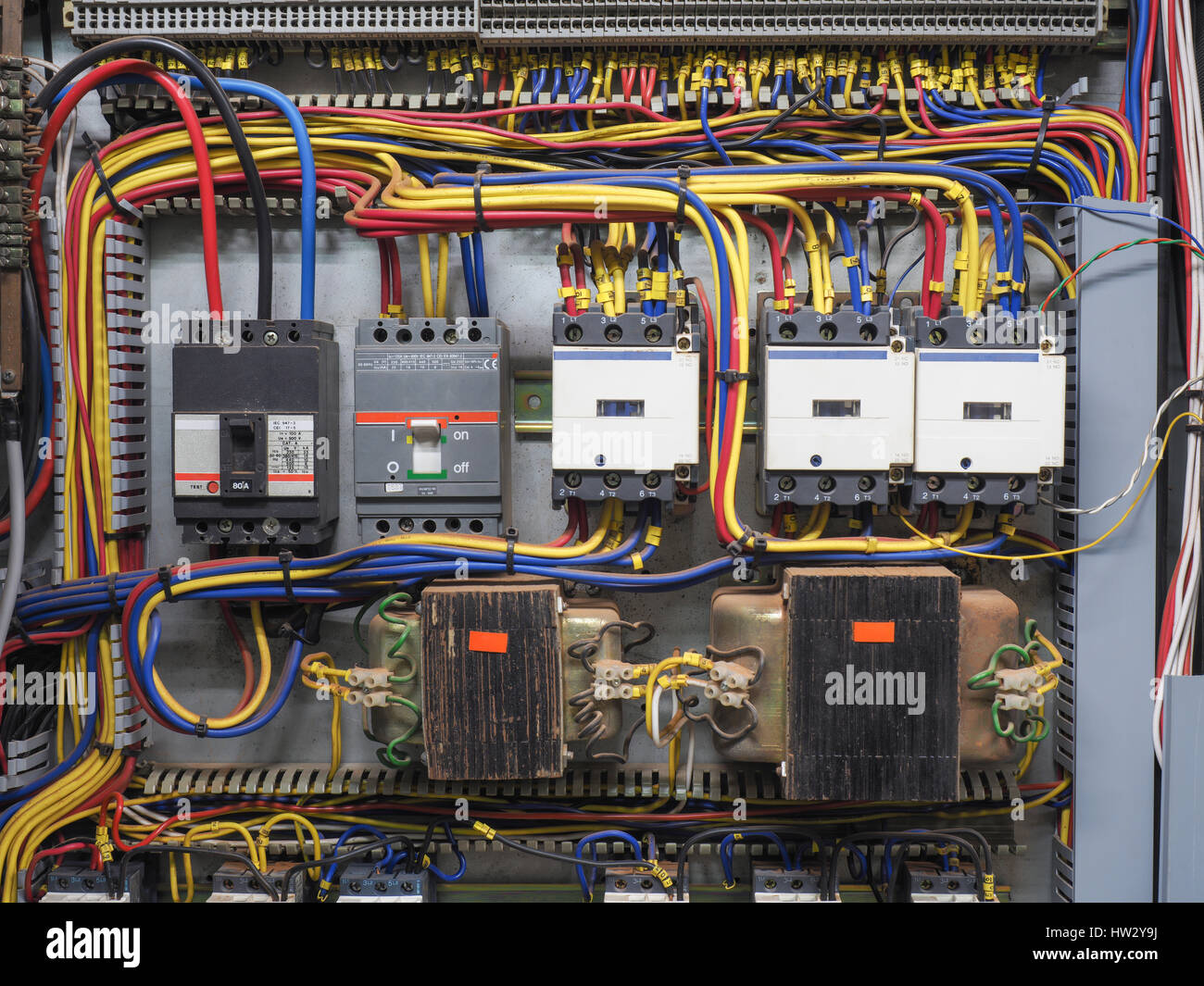 Electrical Cubicle Panel Board Stock Photos & Electrical Cubicle ...