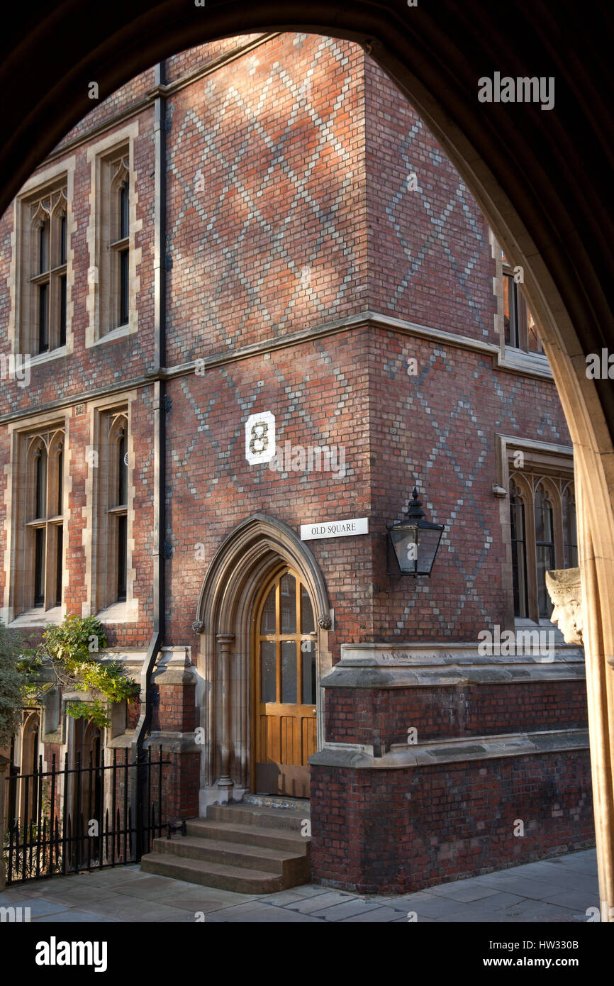 Inns of Court, The Honorable Society of Lincoln's Inn, London, UK - Stock Image