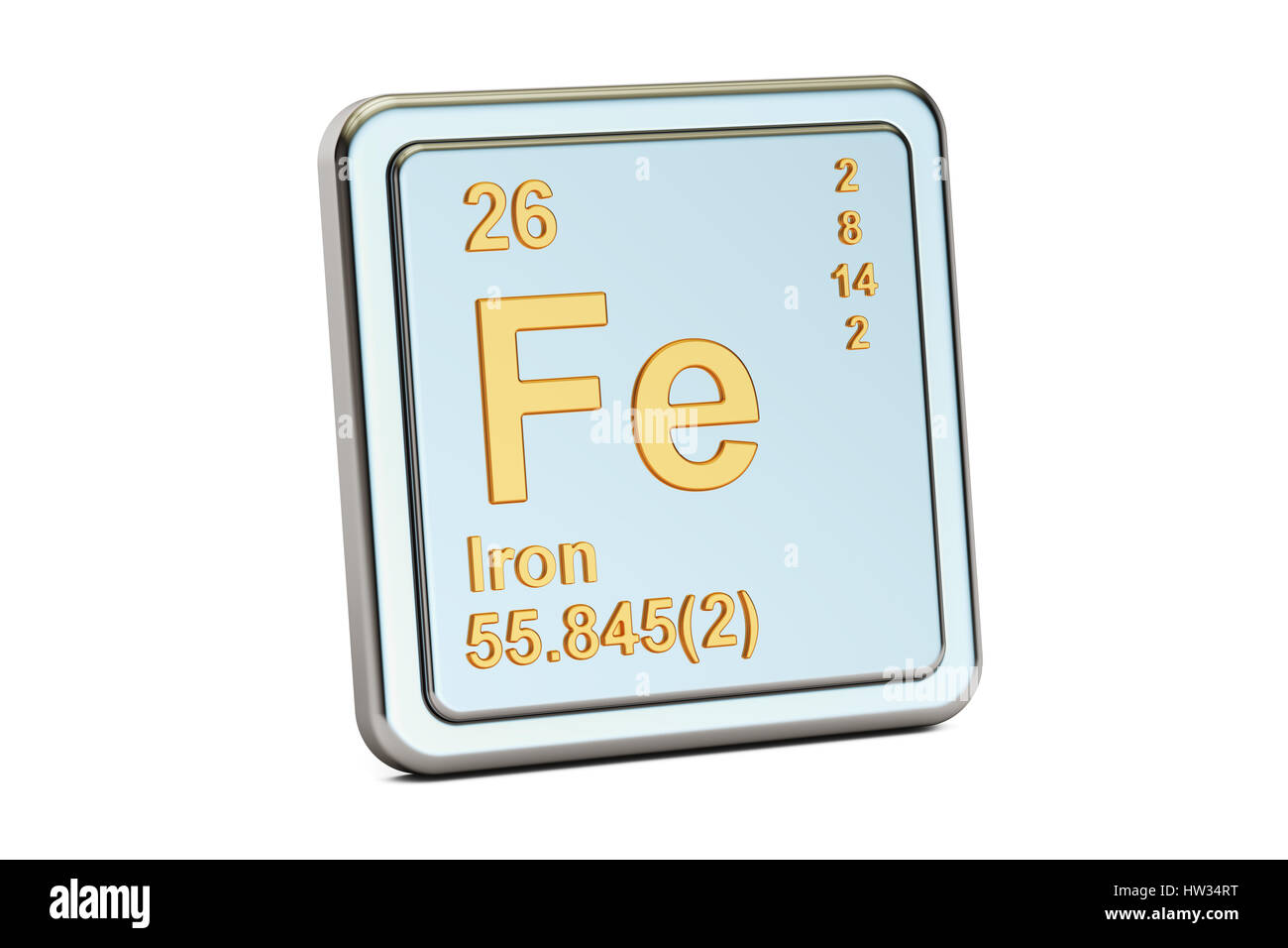 Chemical Symbol Fe Stock Photos Chemical Symbol Fe Stock Images