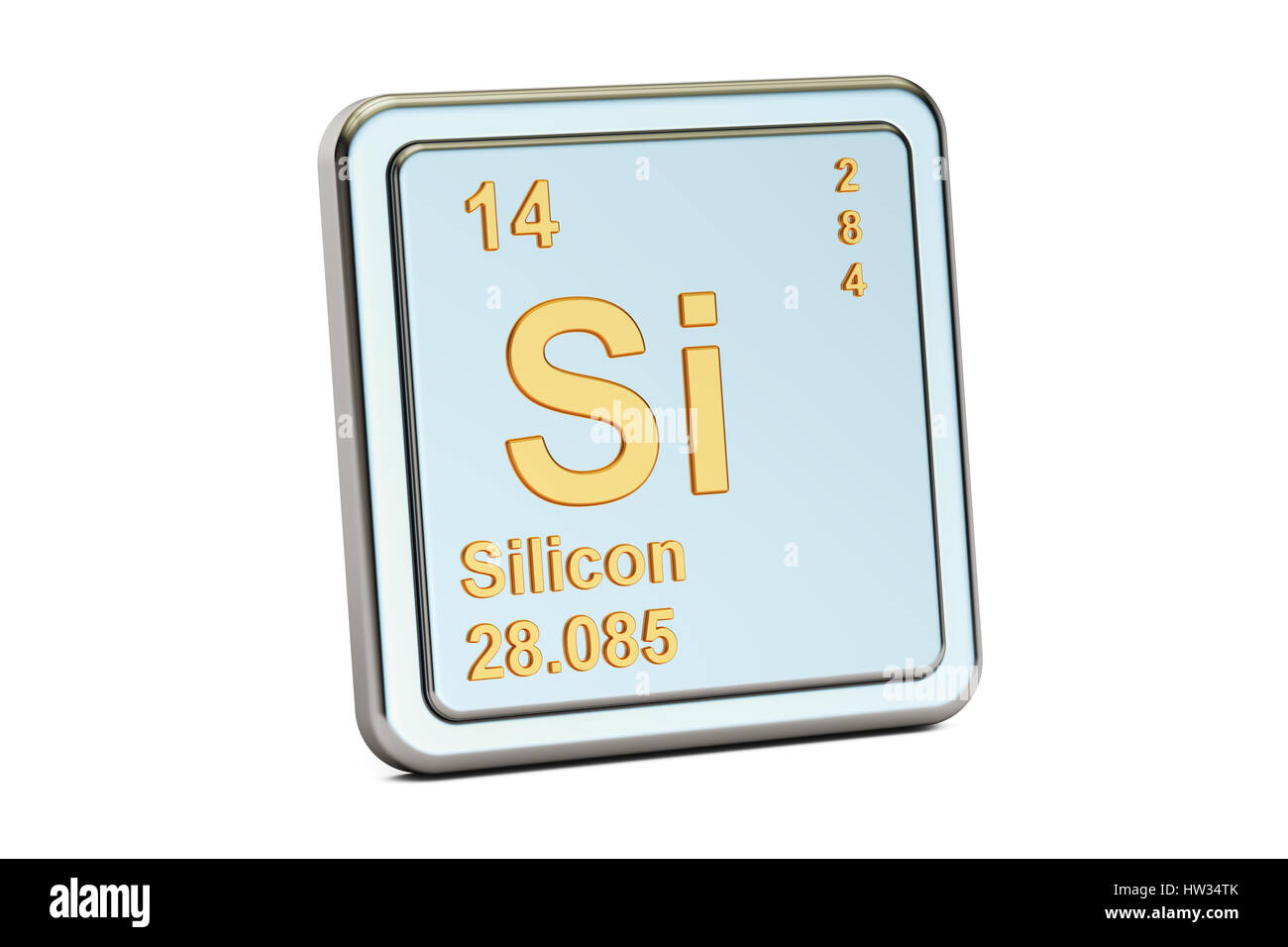 Chemical Symbol Si Stock Photos Chemical Symbol Si Stock Images